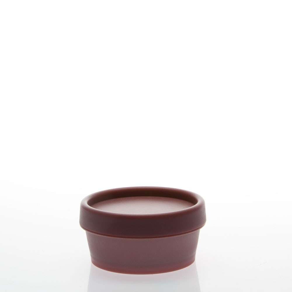 2.5 Ounce Tapered Wall Pot Jars (Cap Included)(Dusty Rose)