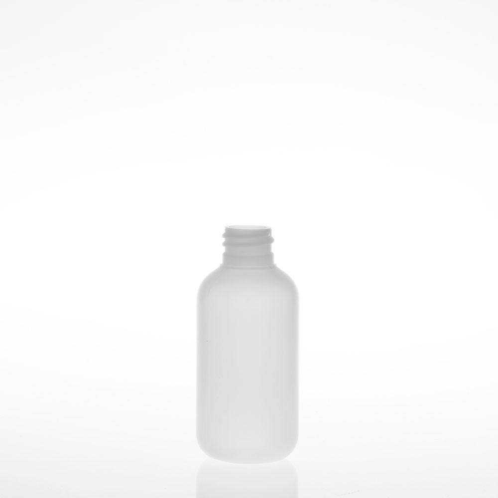 2 Ounce Boston Natural HDPE Plastic Bottles
