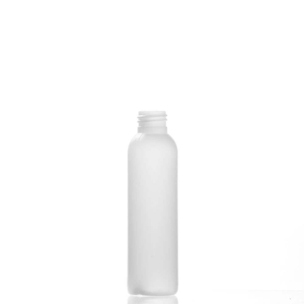 4 Ounce Bullet (Cosmo) Natural Plastic Bottles