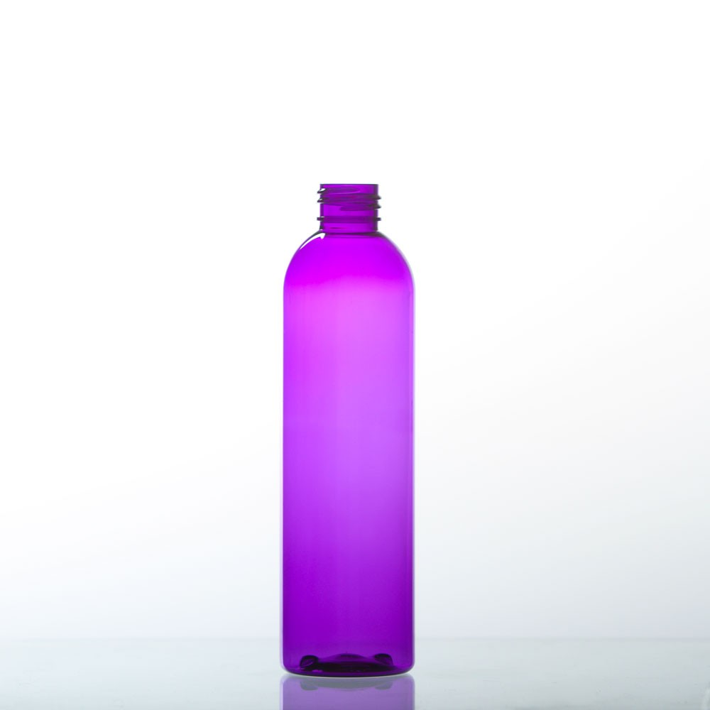 8 Ounce Bullet (Cosmo) Purple Plastic Bottles