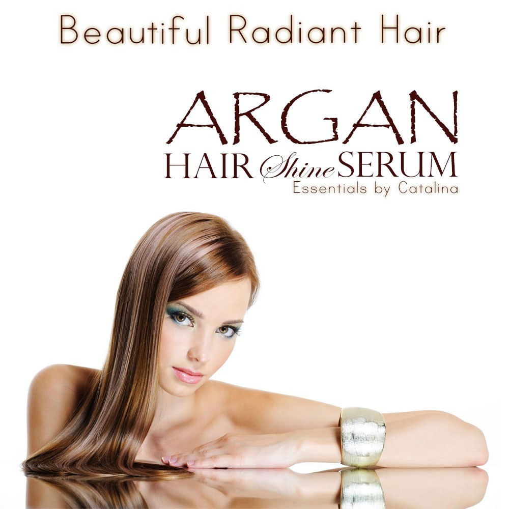 Argan Hair Shine Serum Base
