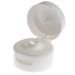 "22/400 White Flip Top Cap (0.185"" Orifice) - +$0.10"