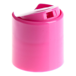 24/410 Hot Pink Smooth Disc Cap (Surplus) - +$0.05