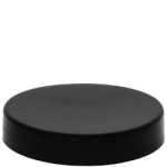 58/400 Black Smooth Top Cap - No Liner - +$0.05