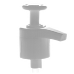 24/410 White Smooth Utility Pump Top - +$0.38